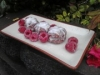 Raw French Raspberry Macaroons  by Chef June