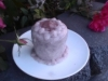 Raw Purple Yam Cake by Chef June