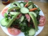 Mediterranean Kale  Salad by Chef June